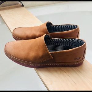 Men's UGG suede loafers size 12